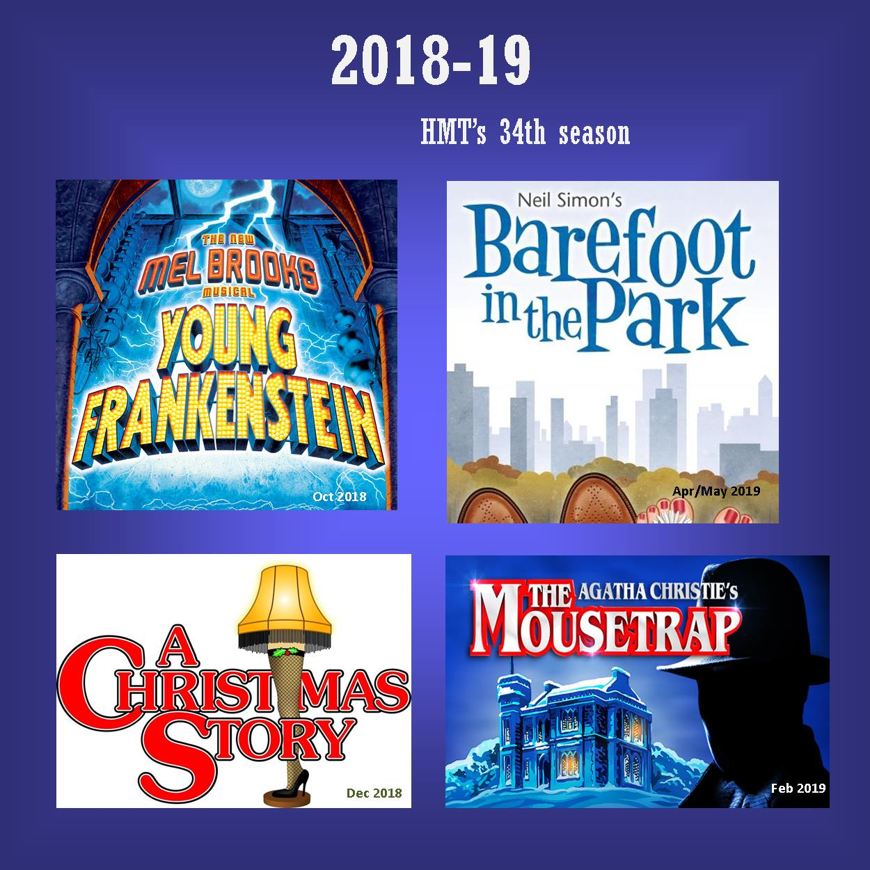 HMT's 34th Season 2018-2019