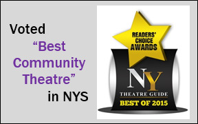 Voted Best Community Theatre