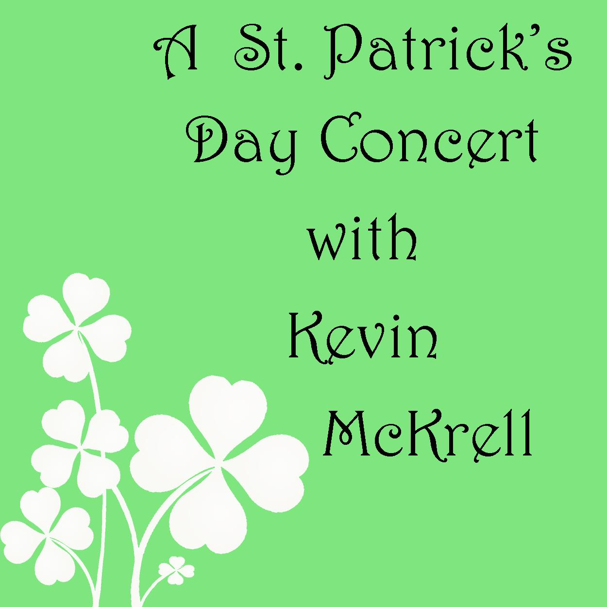 A Pre-St. Patrick's Day Concert with Kevin McKrell & Co.