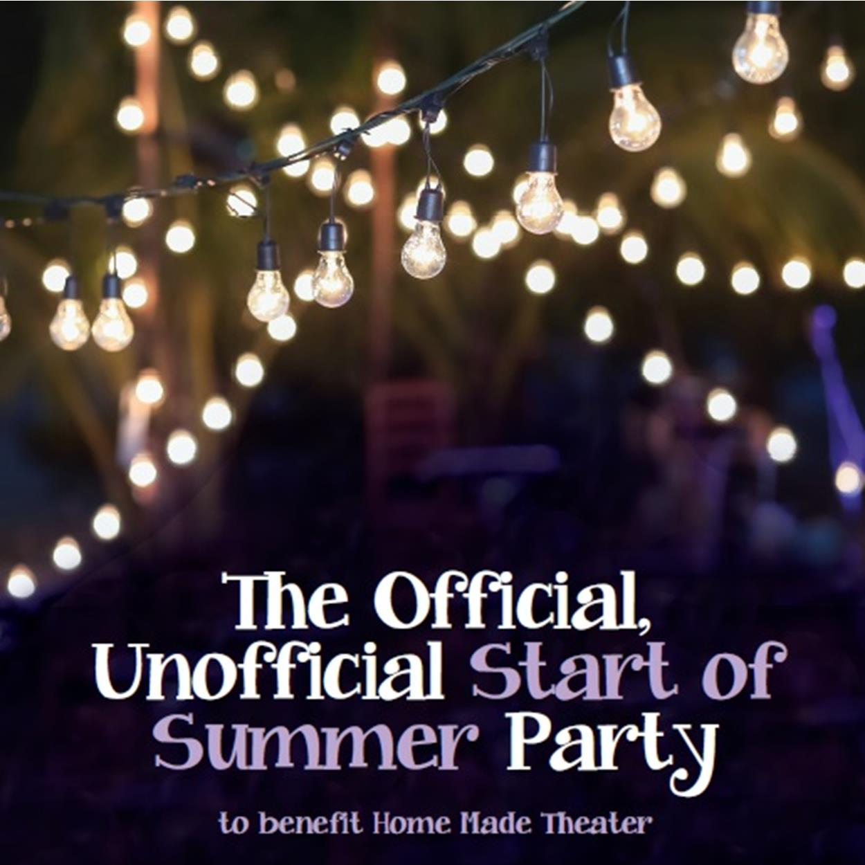 Official Unofficial Start of Summer Party