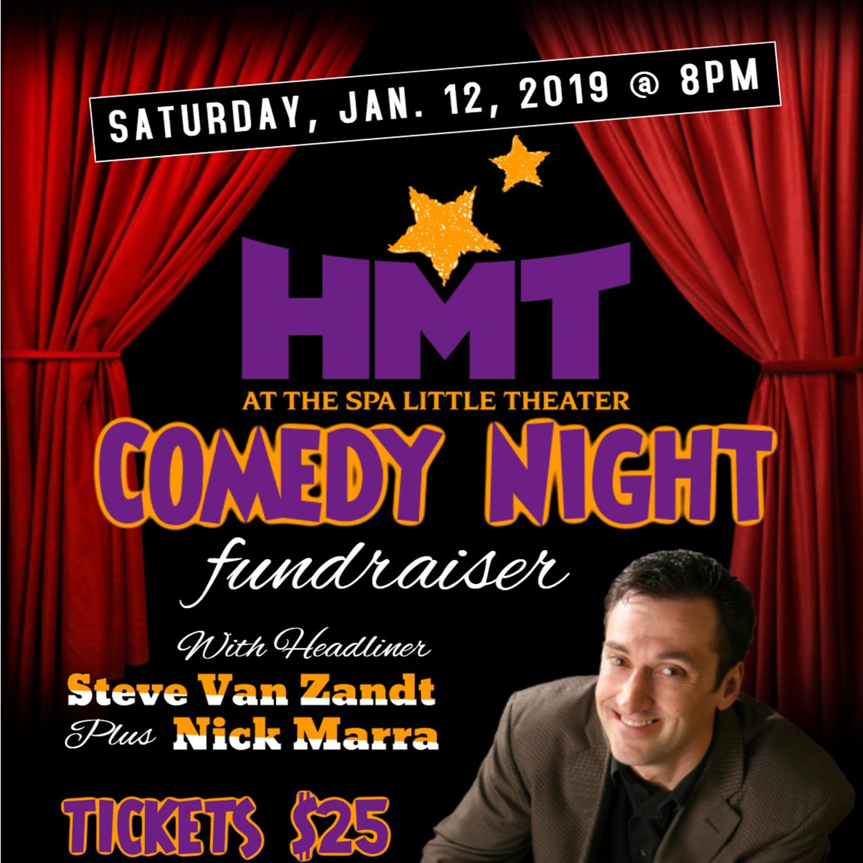 Comedy Night Fundraiser at HMT