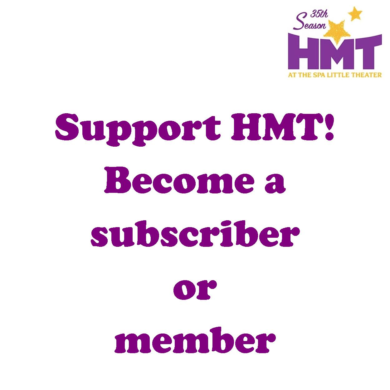 Become an HMT Member