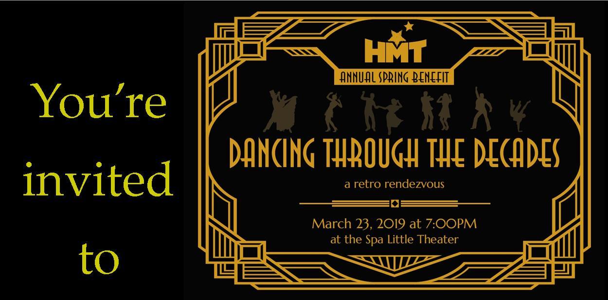 HMT's Spring Benefit Dancing Through the Decades